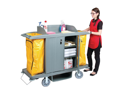 housekeeping trolley large hospisafe
