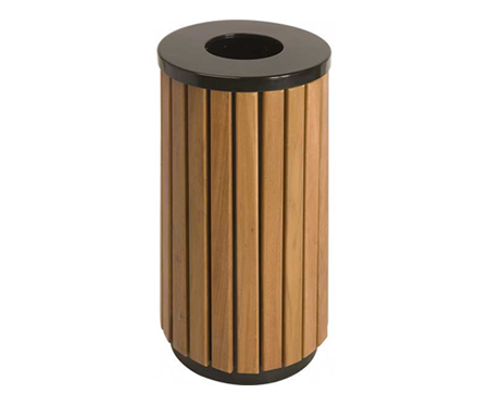 Outdoor wastebins
